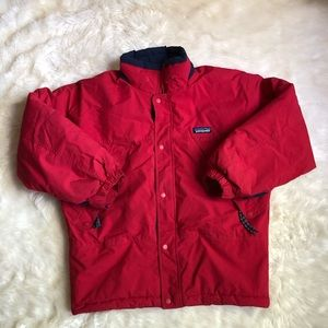Patagonia fluffy padded jacket